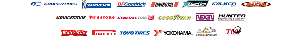 Tire Brands in Sulphur Springs TX, Lake Fork TX, and Cooper TX at Tire Town